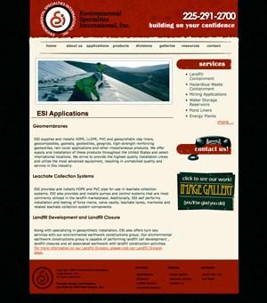 The New Environmental Specialties International, Inc. Website