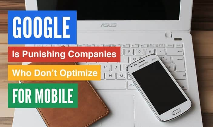 google and mobile websites