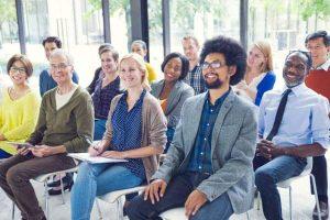 Presentation attendees enjoying the seminar