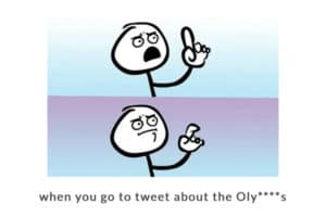 The USOC prevents businesses from tweeting.