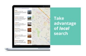 Google adwords updates include a local search map ad.