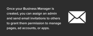 With Business Facebook Manager you can grant permission to different accounts.