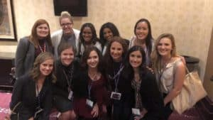PRSSA National Conference goers