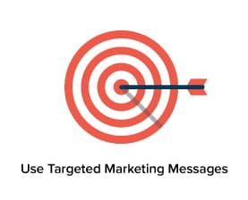 Holiday marketing involves targeting your messages.