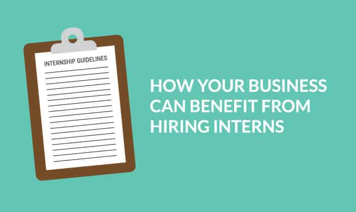 How Your Business Can Benefit from Hiring Interns