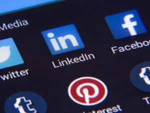 Phishing can take place by leaving your social media public