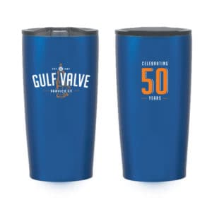 Leaving a tumbler as a leave behind allows you to advertise every time the client uses it.