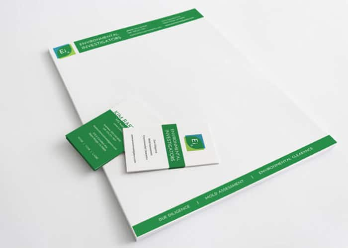 green and white promotional products