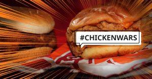 Popeyes Chicken Sandwich in chicken wars