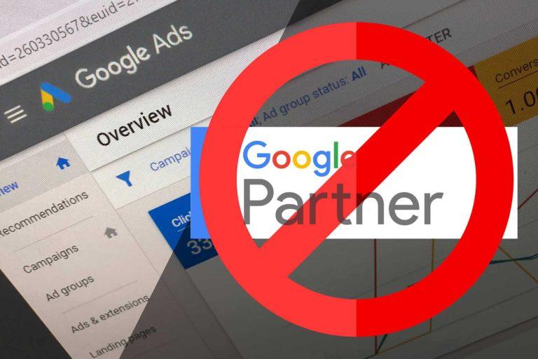 Google Partner Changes