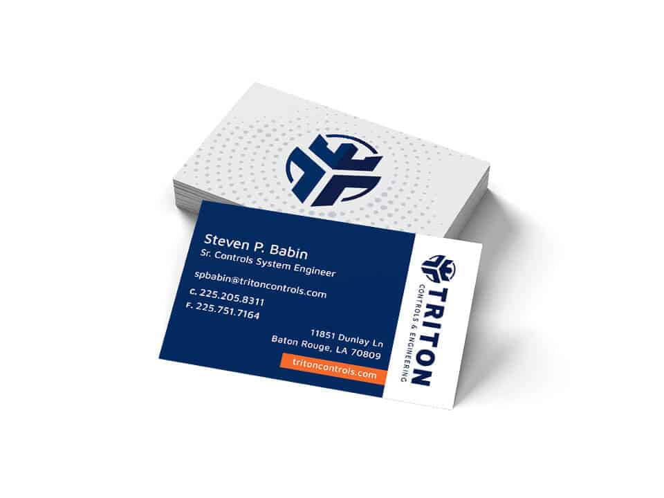 Business Cards for Baton Rouge Web Design Client