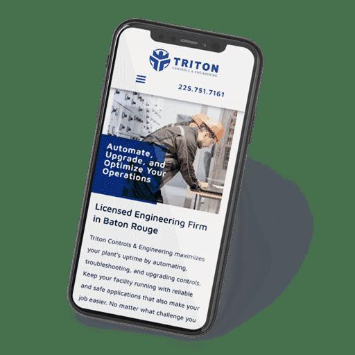 triton controls phone