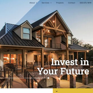 baton rouge website design for architect companies