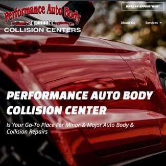 baton rouge website design for auto body repair companies