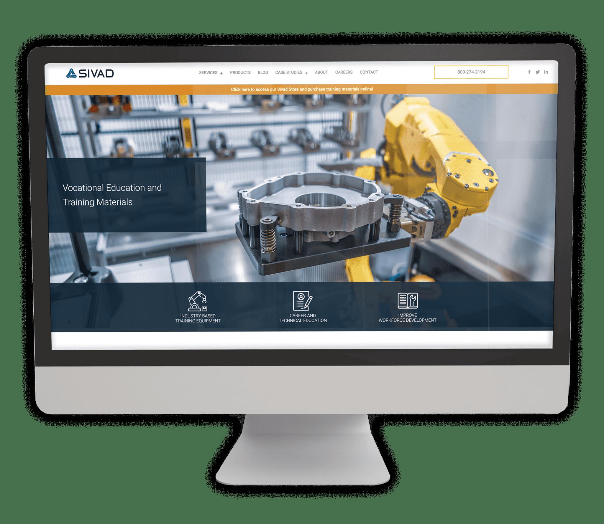 Example of Catapult web design company capabilities