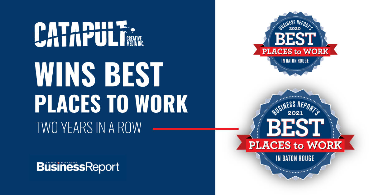 Catapult Wins Best Places to Work 2021